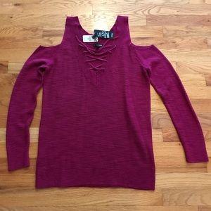 Magenta lightweight sweater